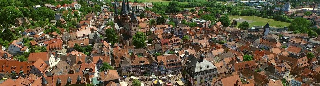 Gelnhausen von oben