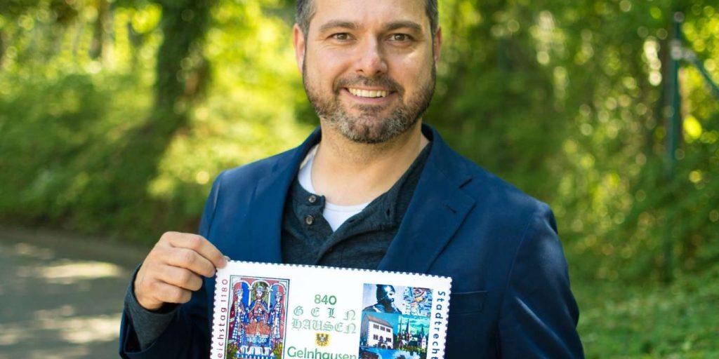 Glöckners Entwurf einer Briefmarke