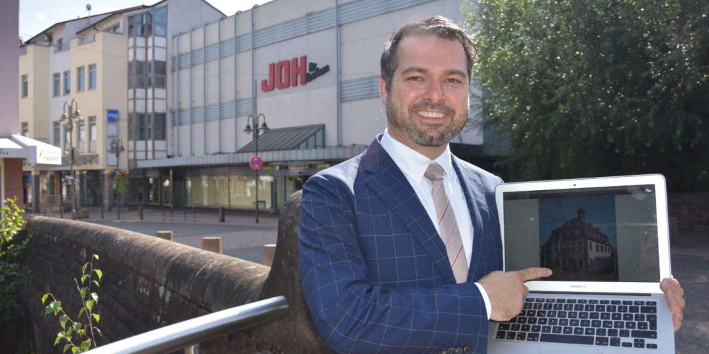 Rathaus im JOH: Outlet und Stadtverwaltung lassen sich gut kombinieren